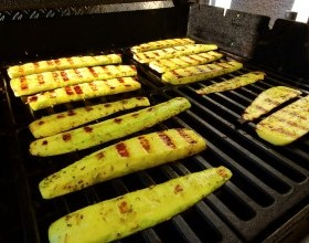 Great Grilled Zucchini