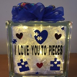 Love You to Pieces Glass Block Workshop: April 6th
